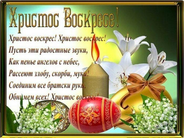 Воістину воскрес - привітання з Великоднем / funik.ru