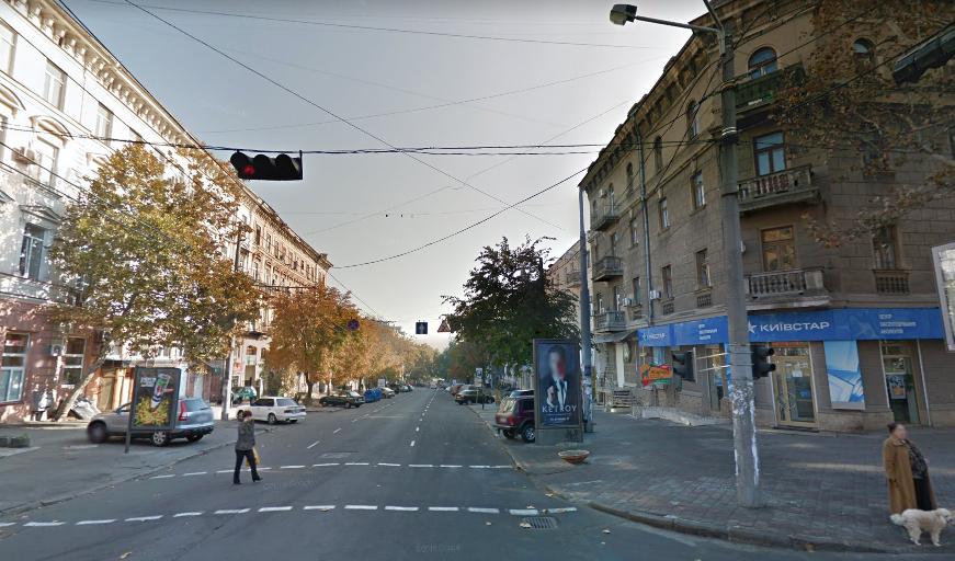 Потерпілого доправили до лікарні / скріншот, Google Maps