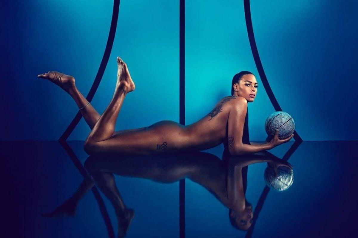 Кембидж Лиза — баскетболистка порадовала публику фотографиями в
