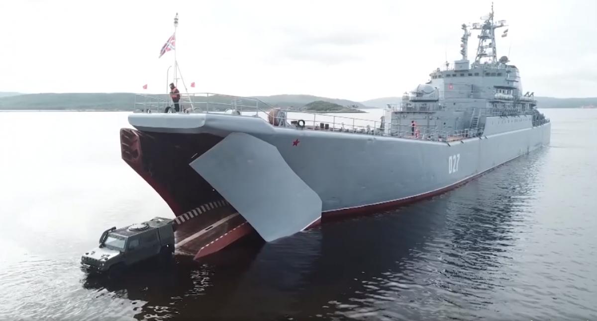 Россия вывела в море военные корабли в районе оккупированного Крыма