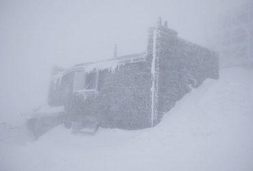 Зима в горах продолжается: Карпаты накрыла метель, ударил мороз до -8° (фото)