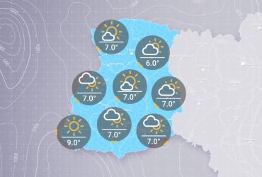 Прогноз погоды в Украине на утро вторника, 20 апреля
