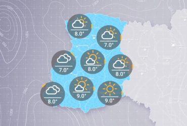 Прогноз погоды в Украине на утро среды, 21 апреля
