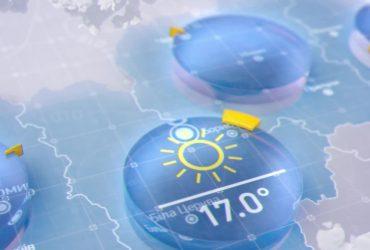 Прогноз погоды в Украине на четверг, 22 апреля