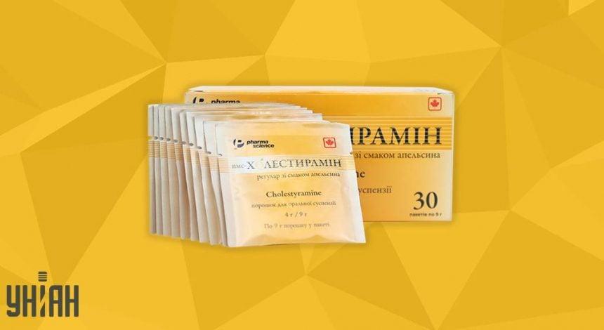 пмс-Холестирамин Регулар фото упаковки