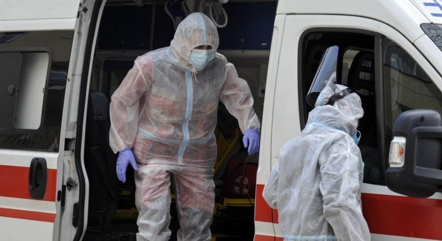 Ukraine reports almost 6,800 new COVID-19 cases in past 24 hours