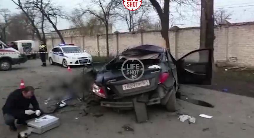 В России 14-летний подросток за рулем Hyundai влетел в дерево - пятеро погибших