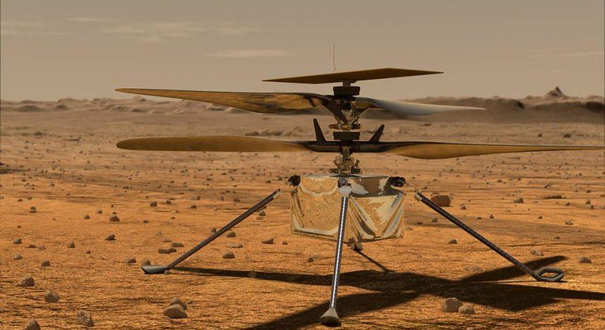 У NASA назвали дату першого польоту вертольота на Марсі