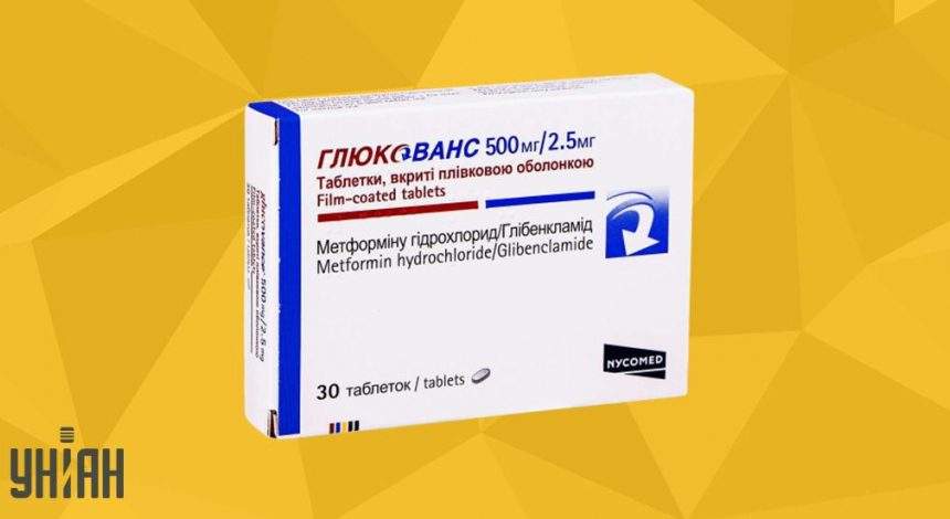 Глюкованс 500 мг/2,5 мг фото упаковки