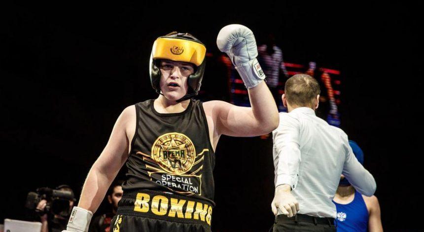 У мережі з'явилося відео ще однієї ганебної перемоги сина Кадирова в боксі