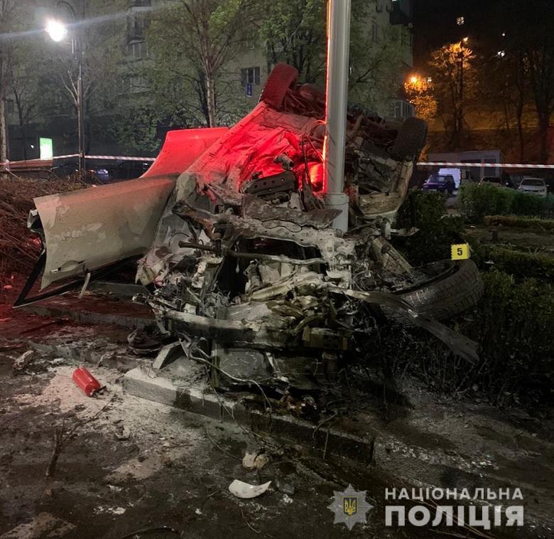 ВнаслідокДТП уКиєві за участю п'яного водія загинула дівчина / фото Нацполіція