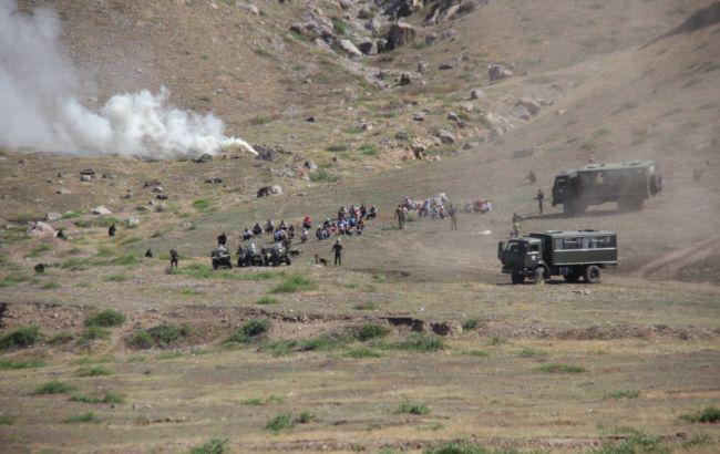 На границе Кыргызстана и Таджикистана начались обстрелы / фото gps.gov.kg