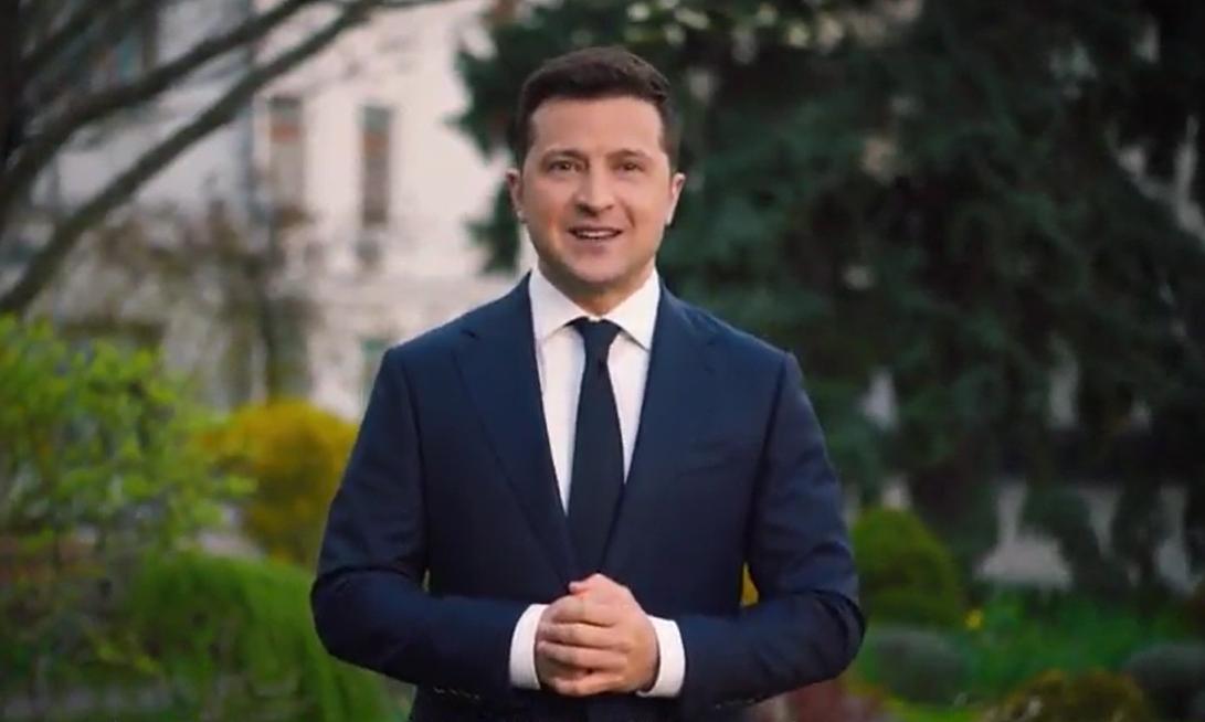 Зеленський звернувся до українців з нагоди Великодня / скріншот відео