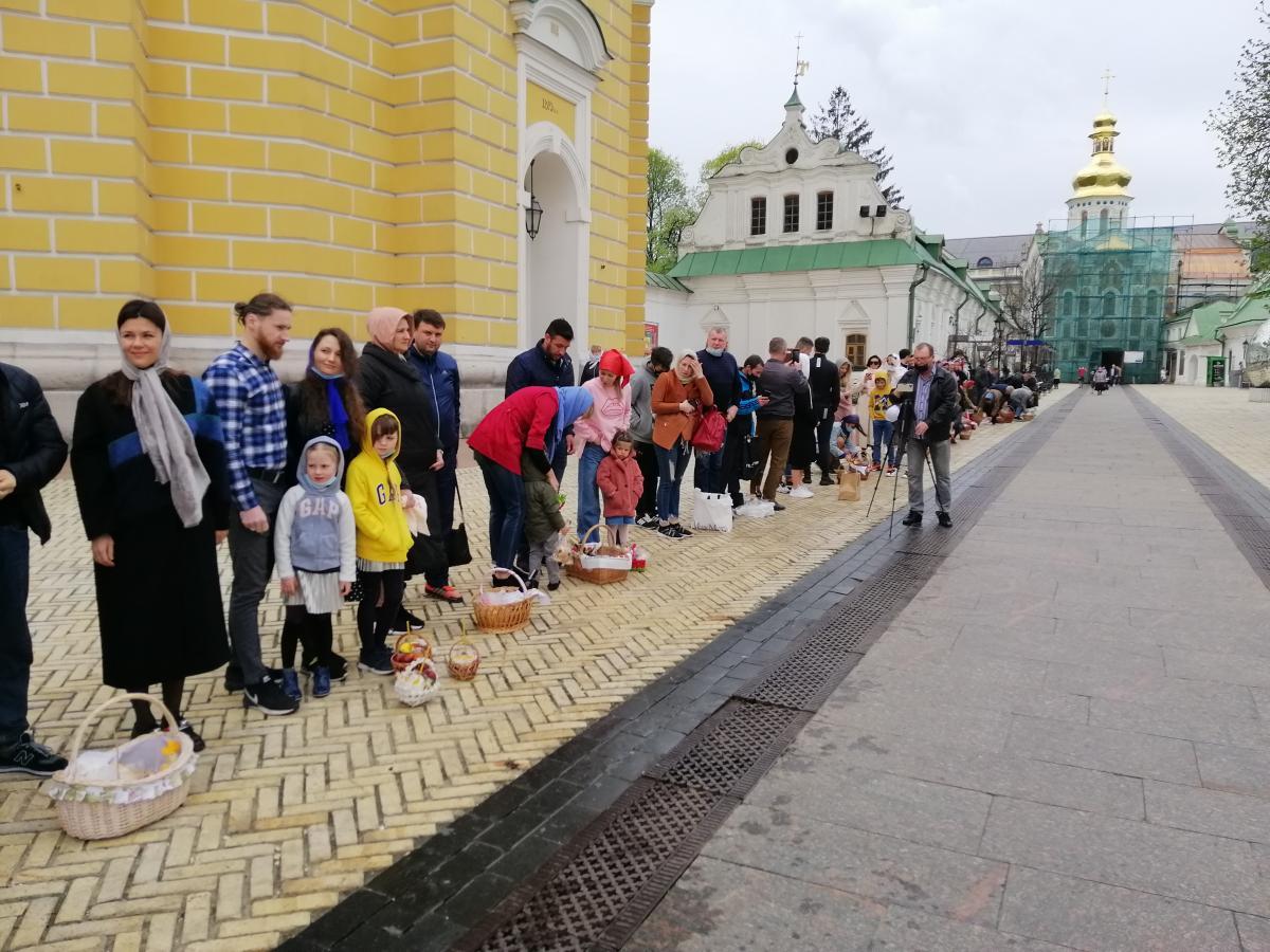 Празднование Пасхи в Киеве/ фото УНИАН