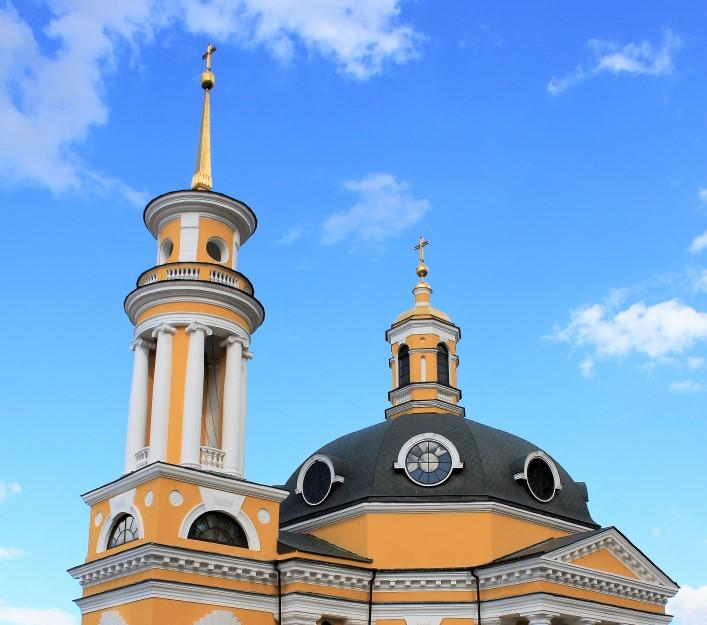 Инцидент произошел в церкви Рождества Христова на Подоле / фото Википедия