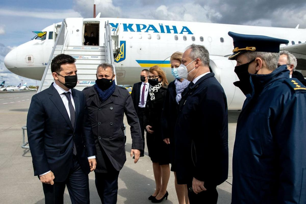 Zelensky has arrived on a working visit in Poland / Photo from Ukrainian President's Office
