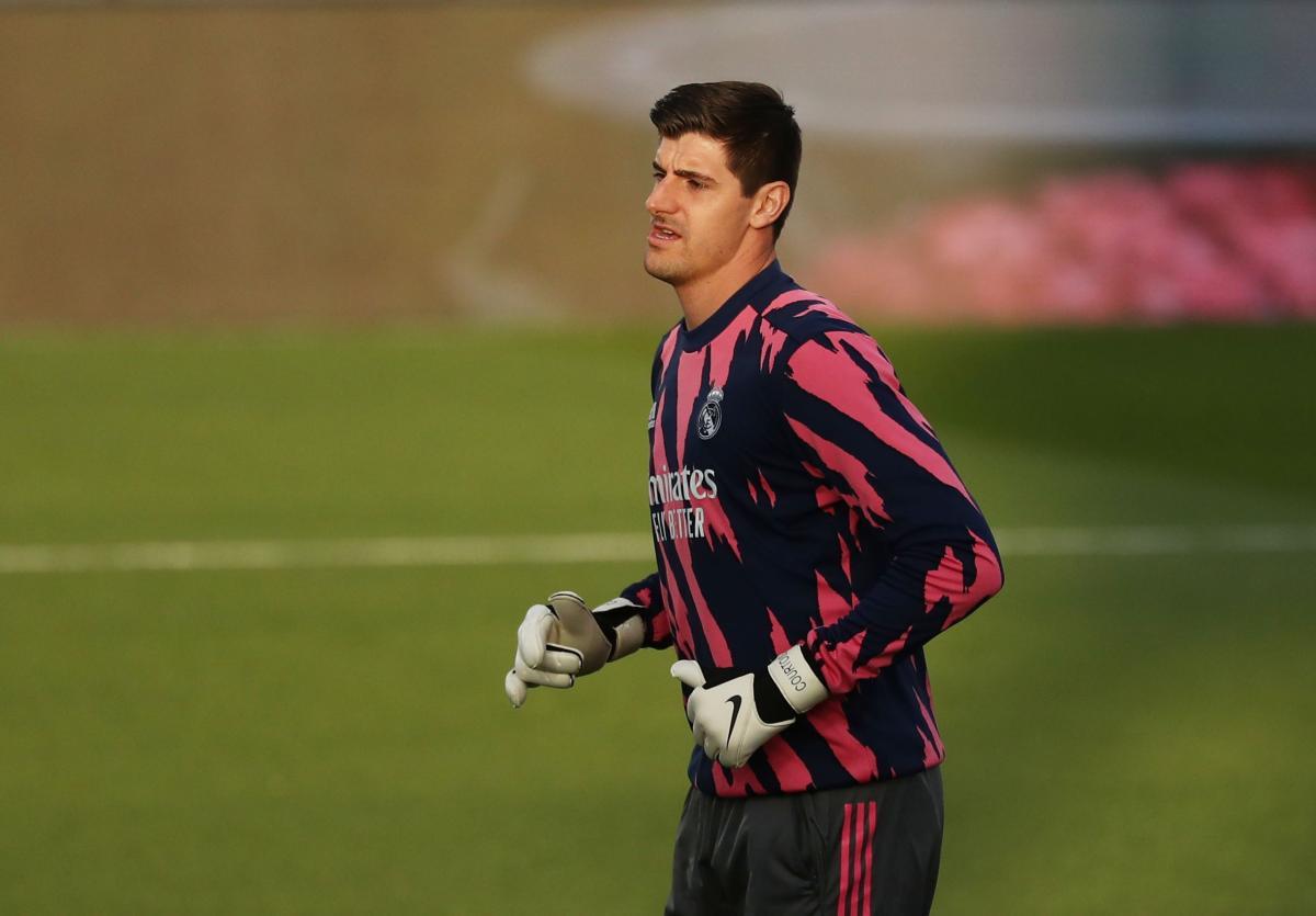 Нынешний вратарь Реала Тибо Куртуа выступал за Челси с 2011 по 2018 год / фото REUTERS