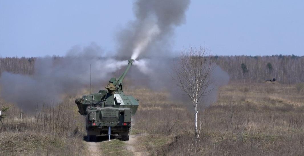 В Украине испытали чешскую САУ \ defence-ua.com