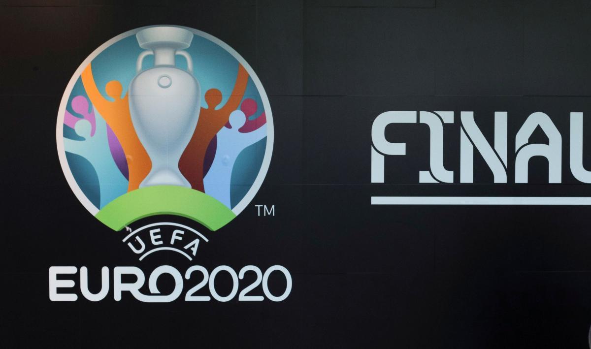 Лого фінальної частини Євро-2020 / фото REUTERS