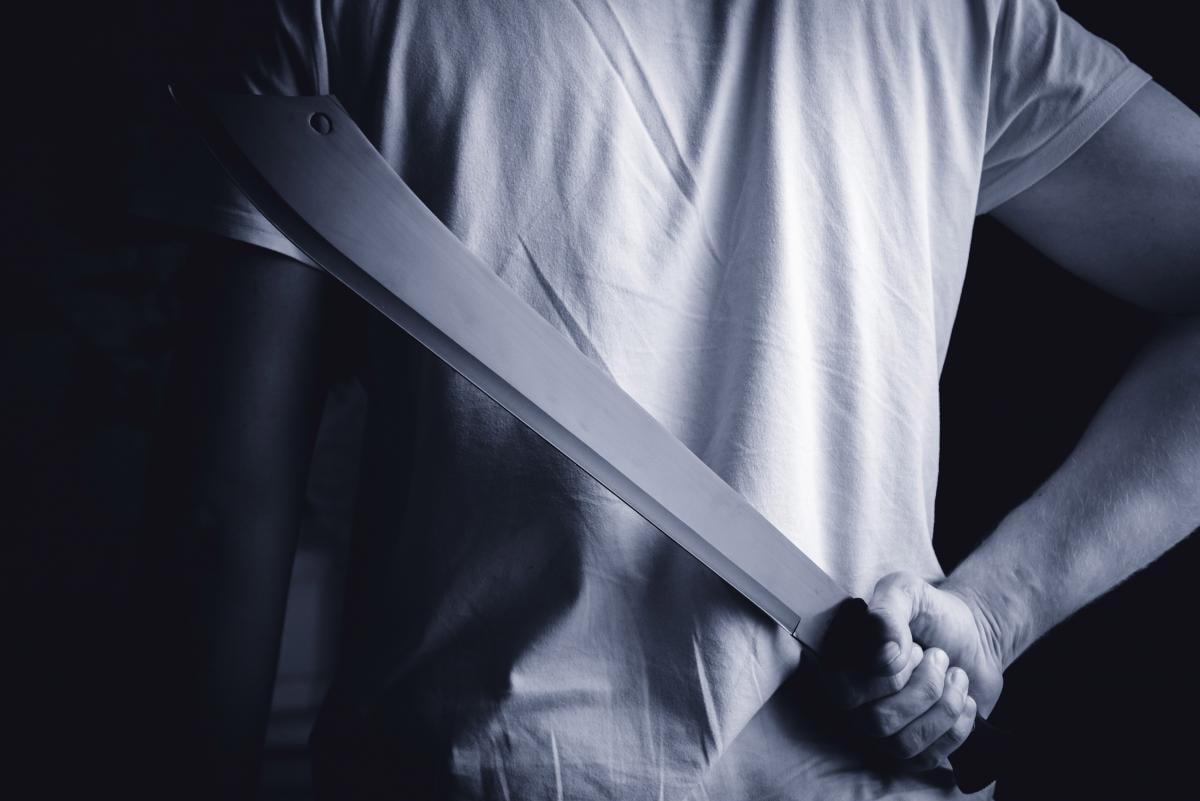 Хлопець з мачете увірвався в дитячий сад і вбив трьох дітей / фото ua.depositphotos.com