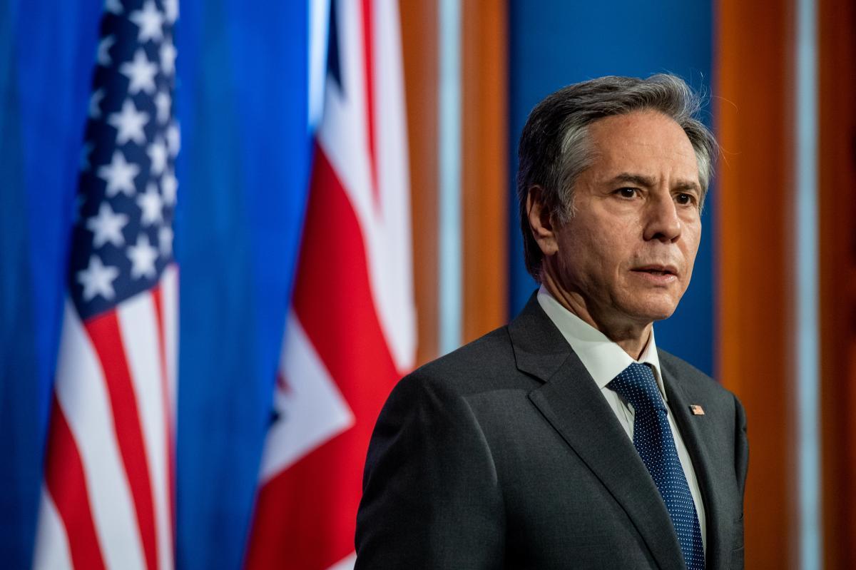 Блінкен прокоментував відносини США і Росії \ Фото: REUTERS