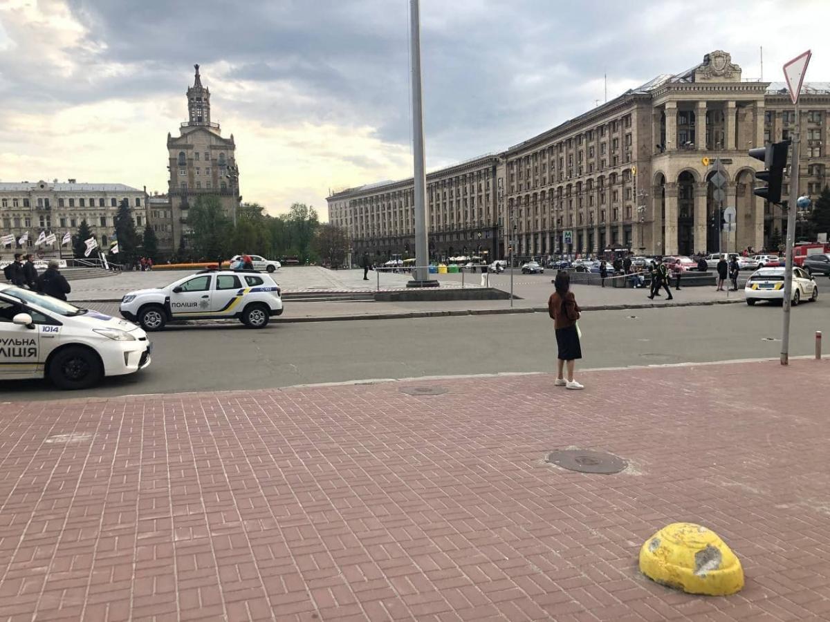 У центрі Києві шукали вибухівку / фото t.me/kyiv_n