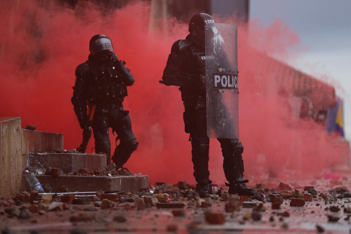У Колумбії вже 8 днів тривають протести / фото REUTERS