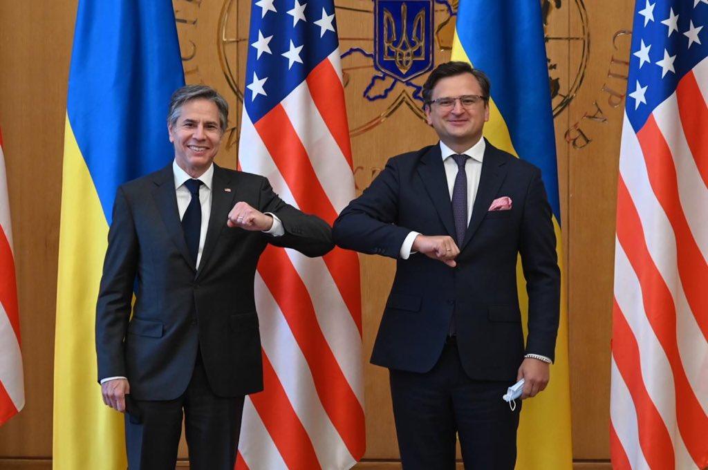 Кулеба встретился с Блинкеном в Киеве / Twitter