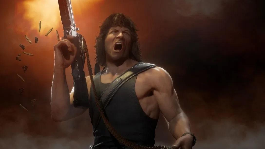 Раніше Рембо потрапив у гру Mortal Kombat / скріншот