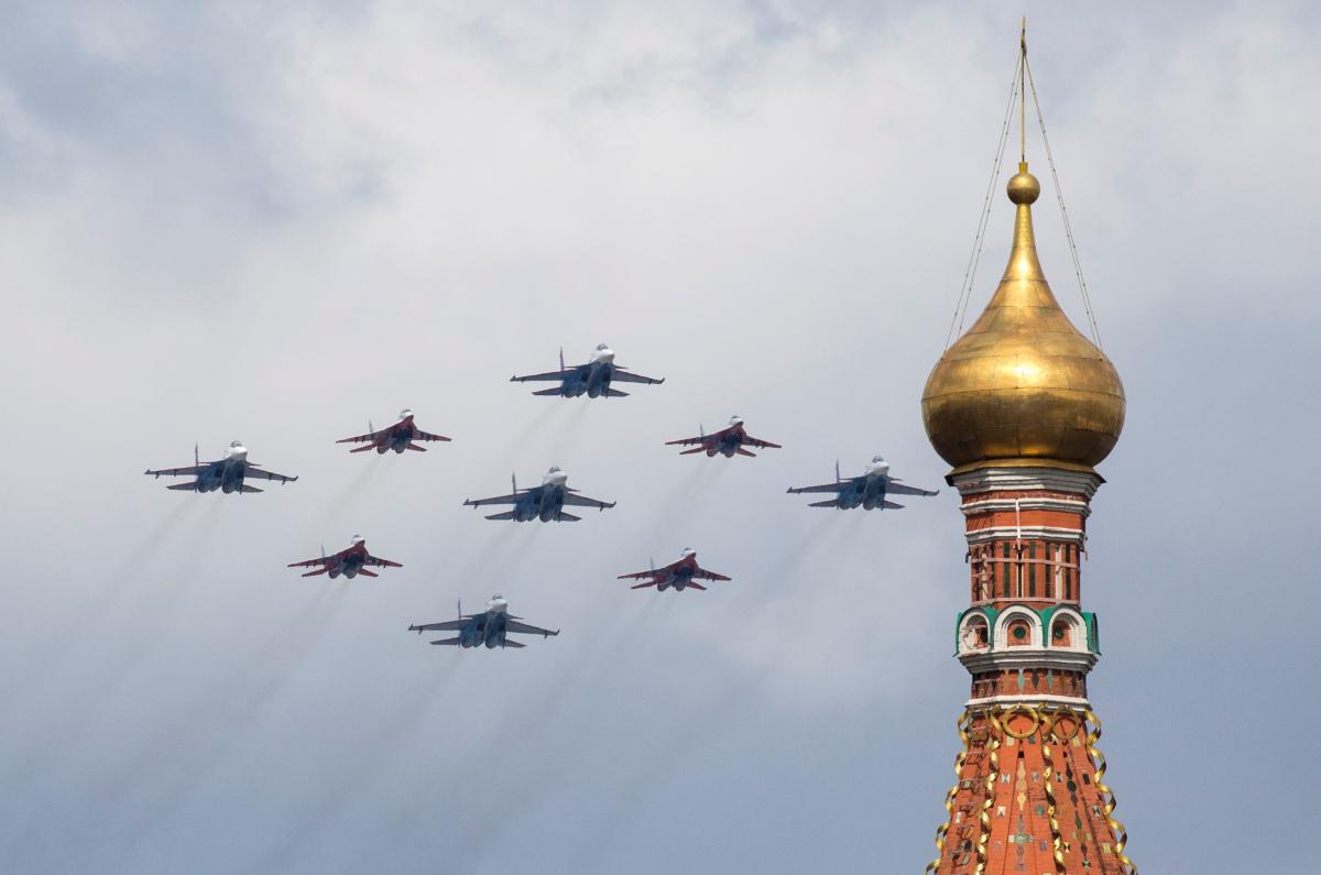 Градус антиукраинской истерики в РФ растет / REUTERS