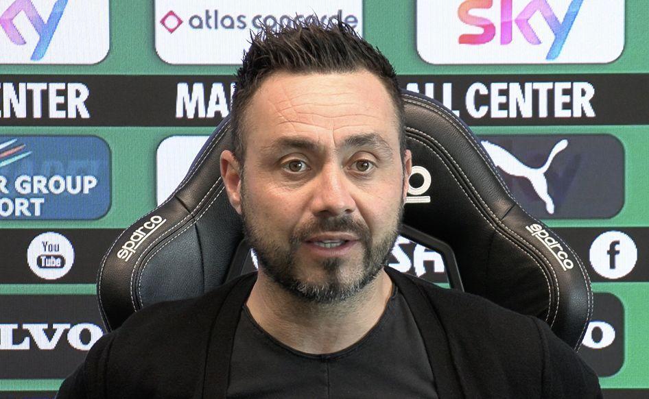 Роберто де Дзербі з 2018 року очолює Сассуоло / фото twitter.com/SassuoloUS