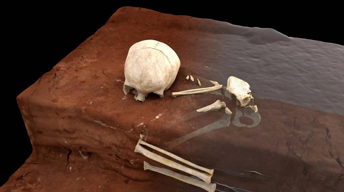 Найденную могилу можно назвать самой древней из найденных на континенте / фото nature.com