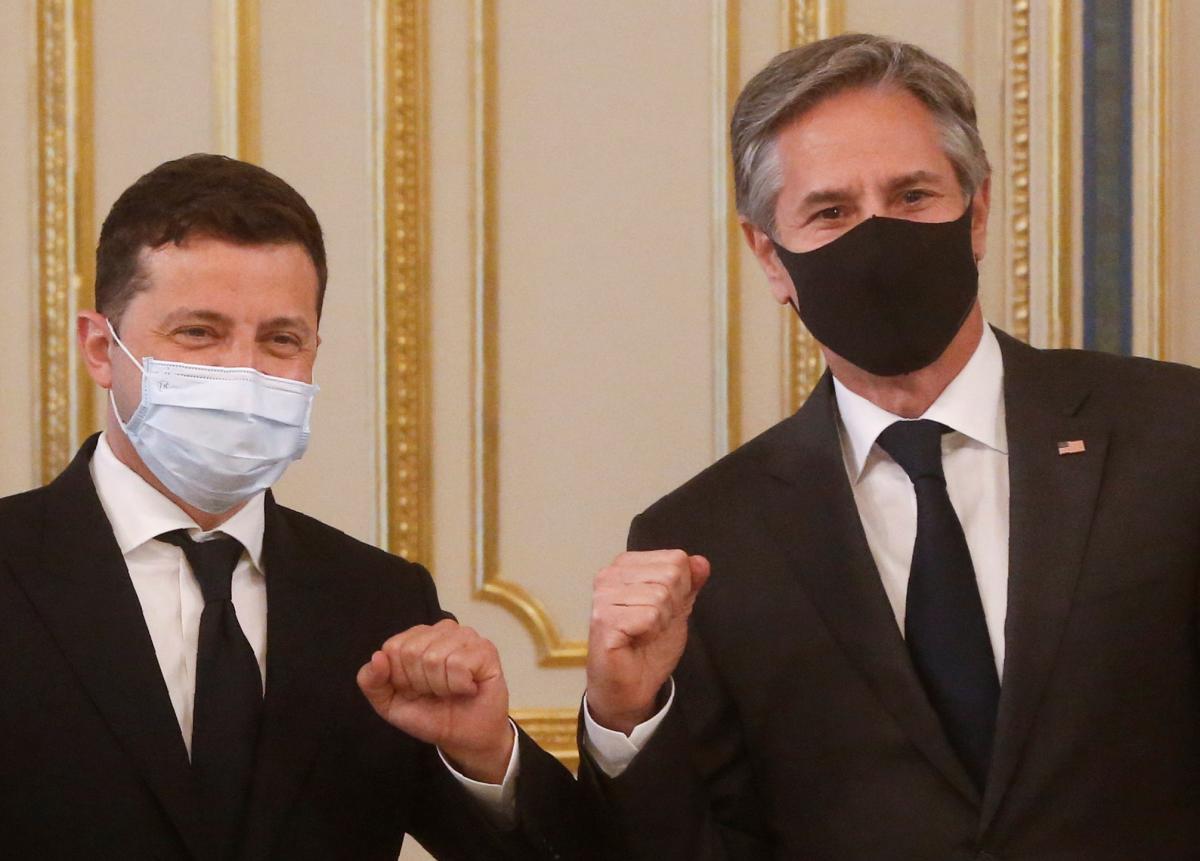 Блинкен очень вовремя приехал в Киев, считают западные дипломаты / фото REUTERS