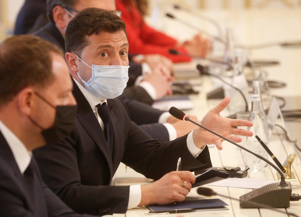 Зеленский высказался о приватизации в Украине / фото REUTERS