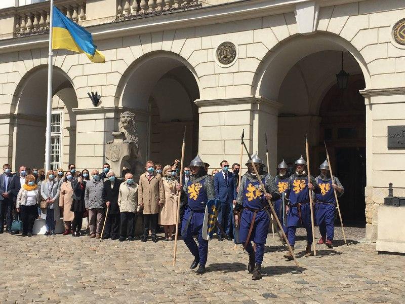 Никаких массовых мероприятий на День города во Львове не планируют / фото Мирослава Бзикадзе
