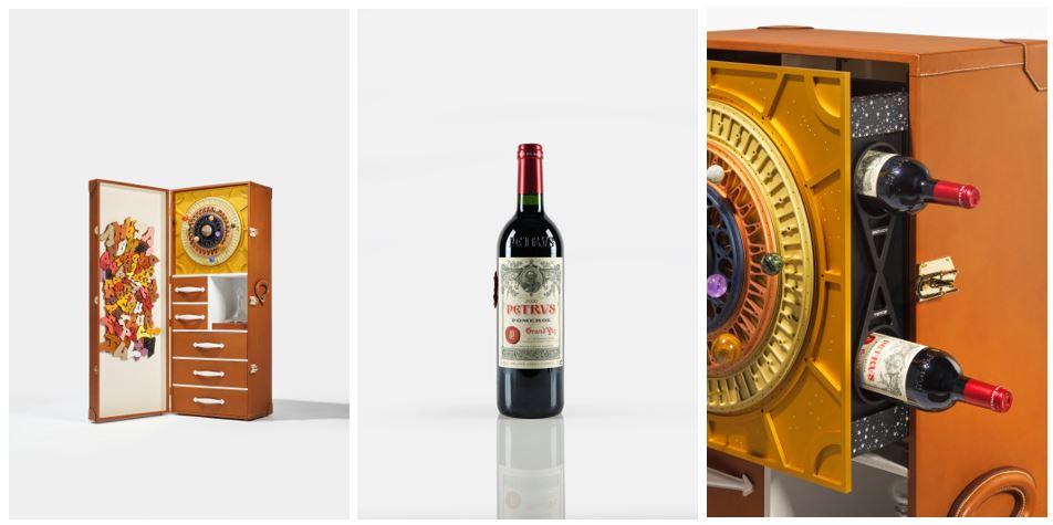 14 бутылок вина Petrus 2000 более года провели на МКС / фото christies.com