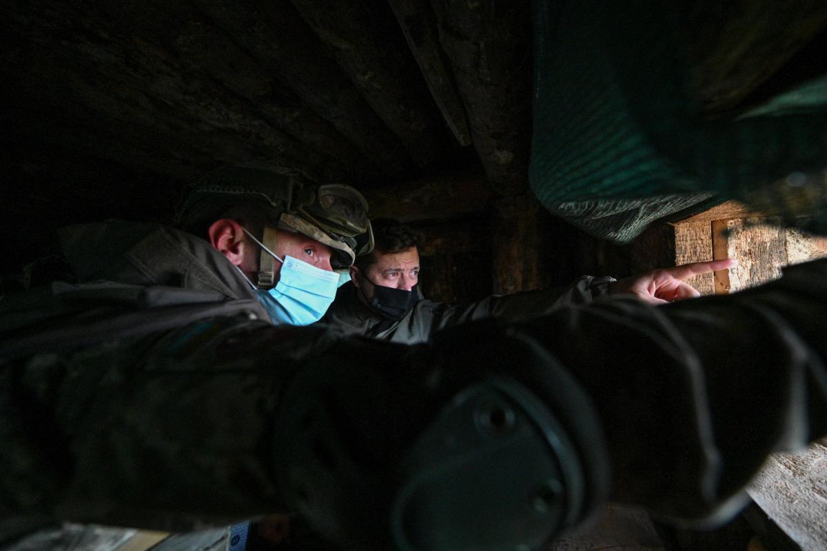 Зеленский обсудил ситуацию на Донбассе с Блинкеном / REUTERS