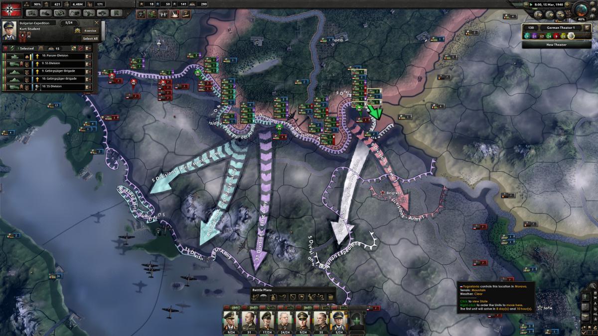 Hearts of Iron IV / скриншот