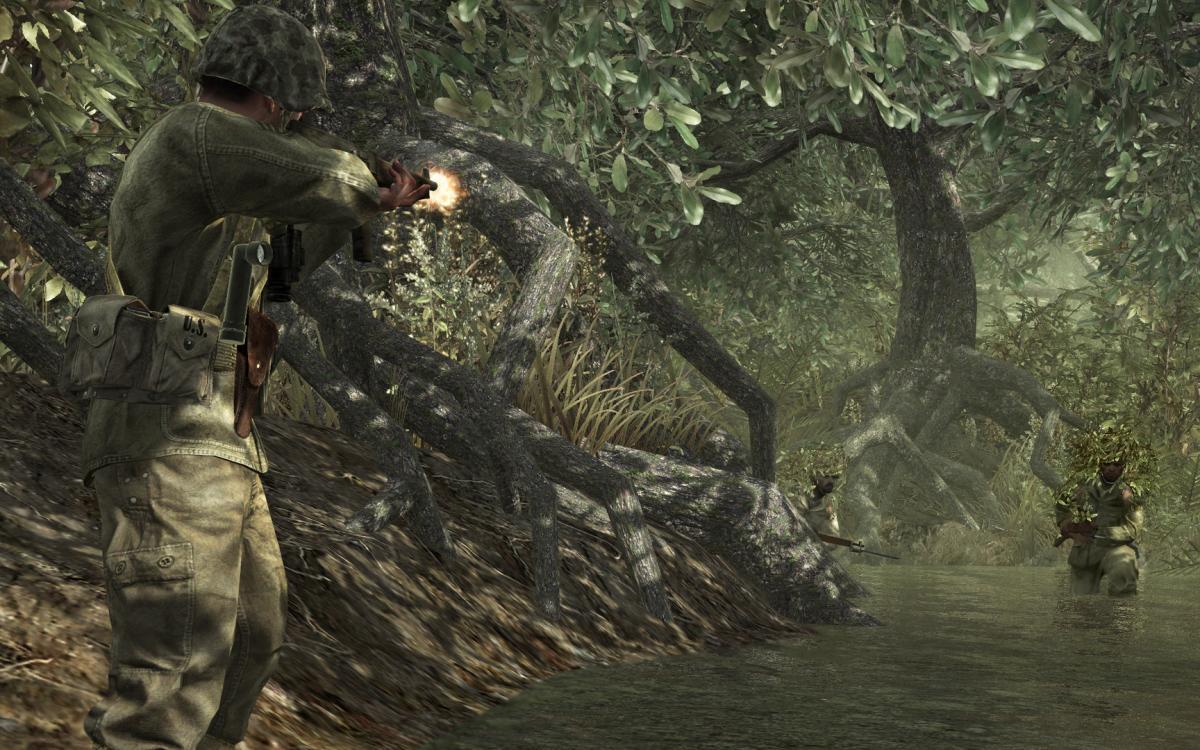 Call of Duty World at War / фото Activision