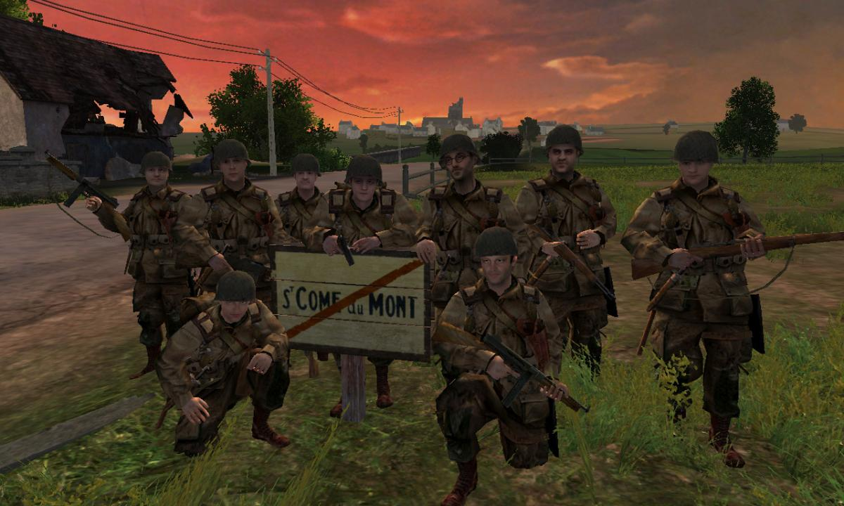 Brothers in Arms Road to Hill 30 / фото Gearbox Software