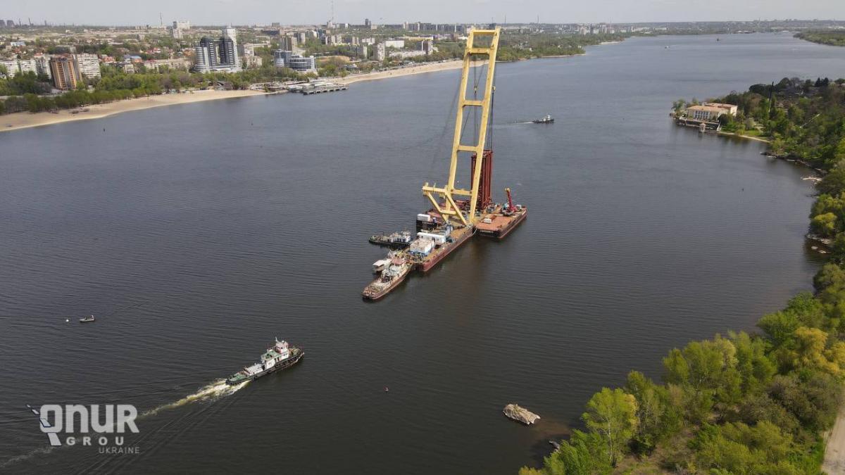 Зараз роботи тимчасово зупинені / фото Onur Group Ukraine