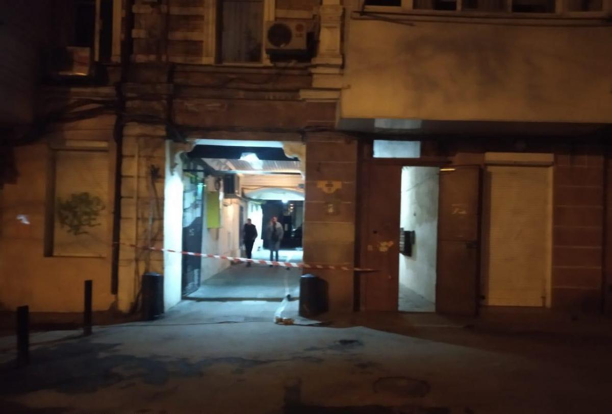Гранату прикріпили до газової труби житлового будинку / фото odessa.online
