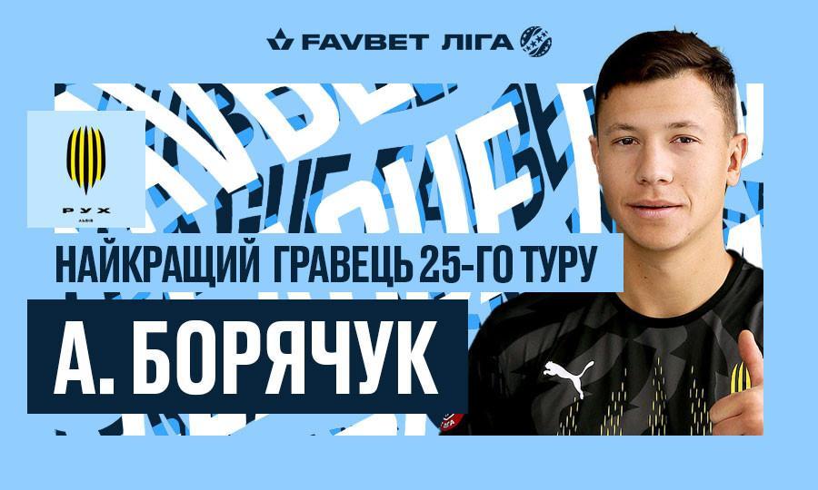 Андрей Борячук - лучший игрок тура / upl.ua