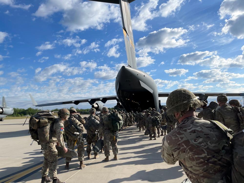 НАТО намагається показати, що його війська можуть швидко з'явитися там же, де й російські/ фото: DVIDS