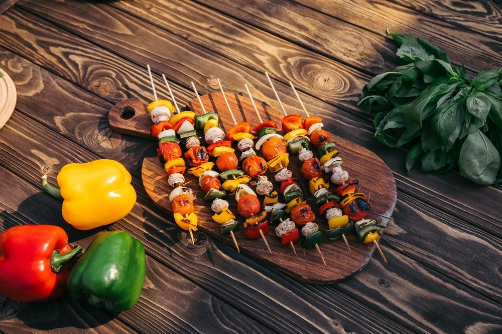 Овощной шашлык рецепт / фото ua.depositphotos.com