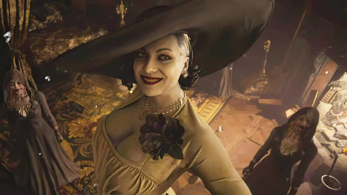 Леді Дімітреску з Resident Evil Village / фото Capcom