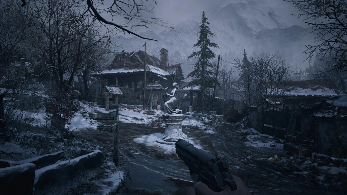 От деревни веет атмосферой захолустного средневековья и мистики / скриншот