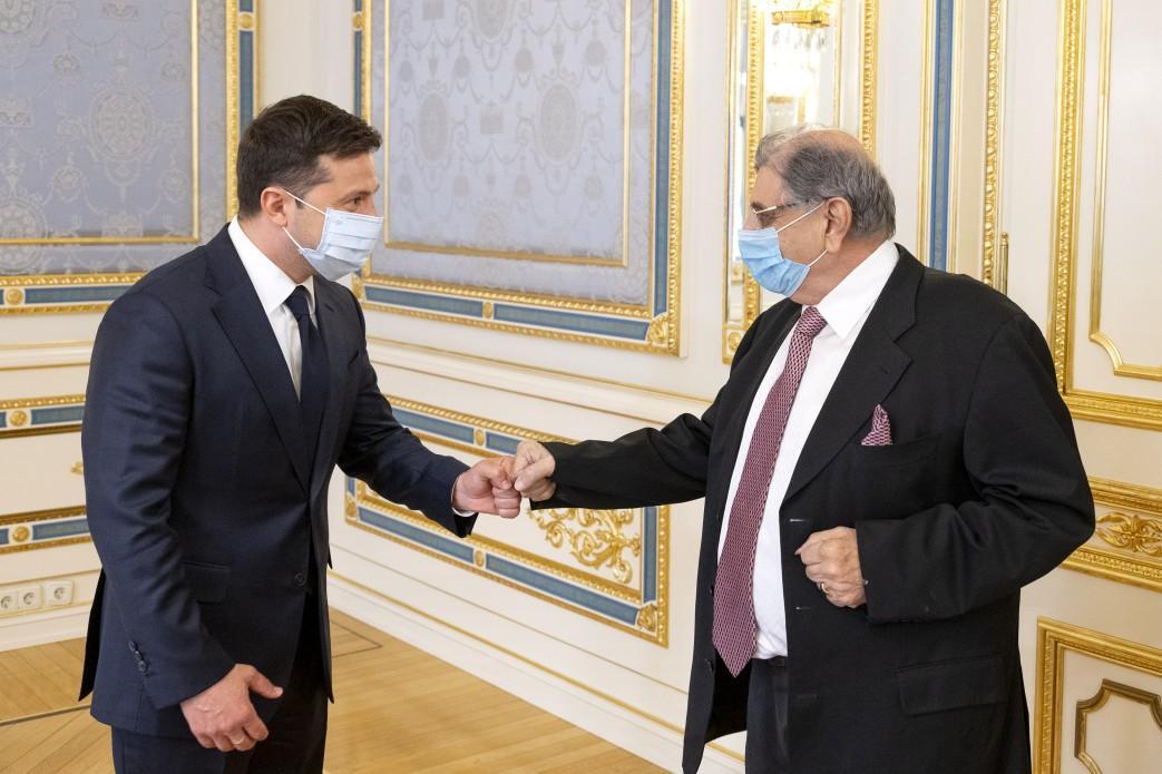 """По словам Зеленского, Индия получит гуманитарный груз от Украины """"в ближайшие дни"""" / фото Офиса президента Украины"""