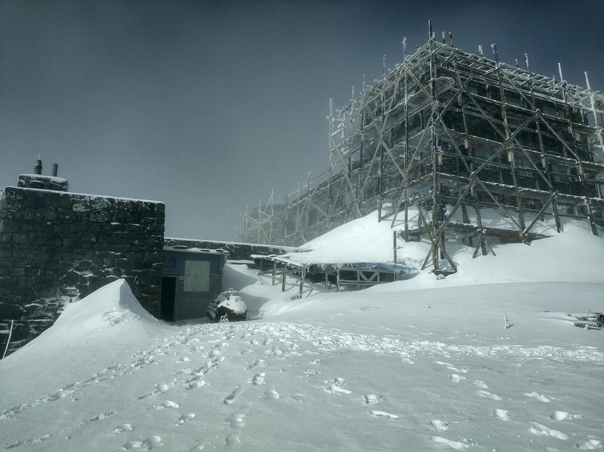 У Карпатах випало 20 сантиметрів снігу / фото facebook.com/chornogora.rescue112/