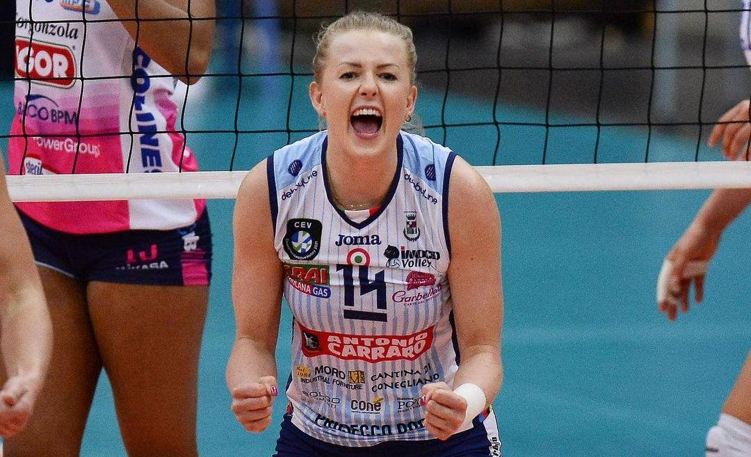 Йоанна Волош виграла Лігу чемпіонів / фото Michele Gregolin